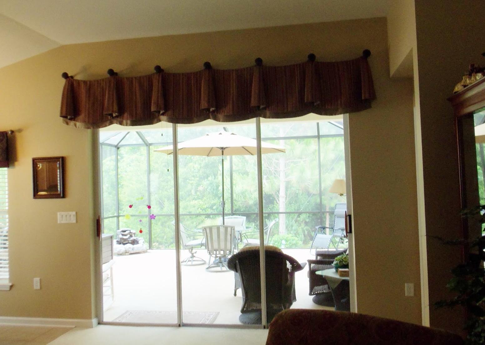 Ideas For Curtains Sliding Glass Doors