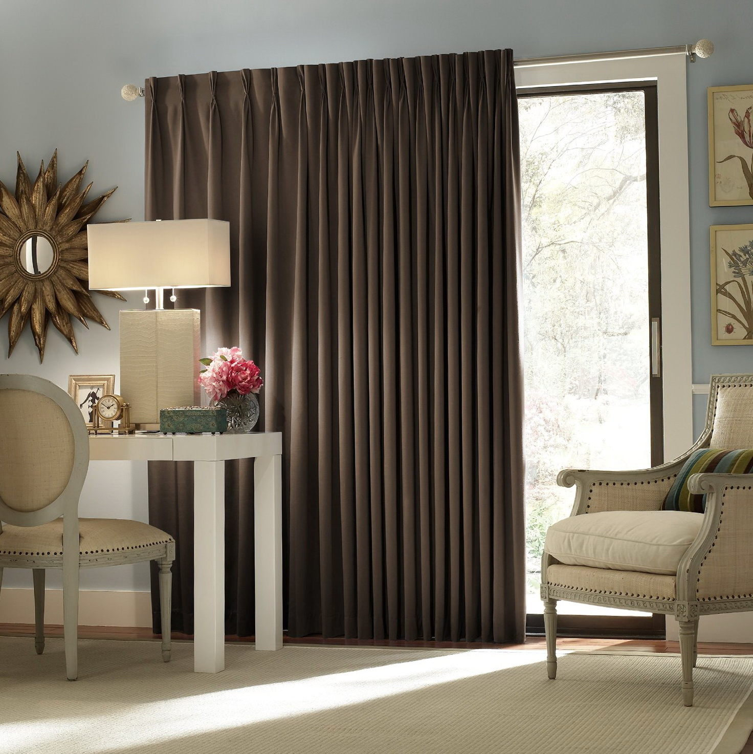 Images Of Curtains For Sliding Doors