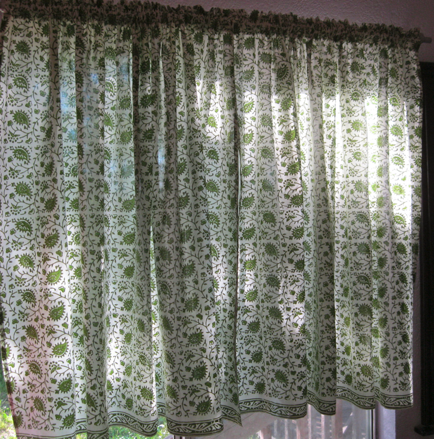 Indian Block Print Curtains