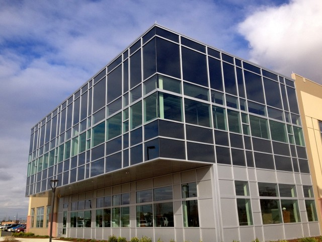 Kawneer Curtain Wall Louvers