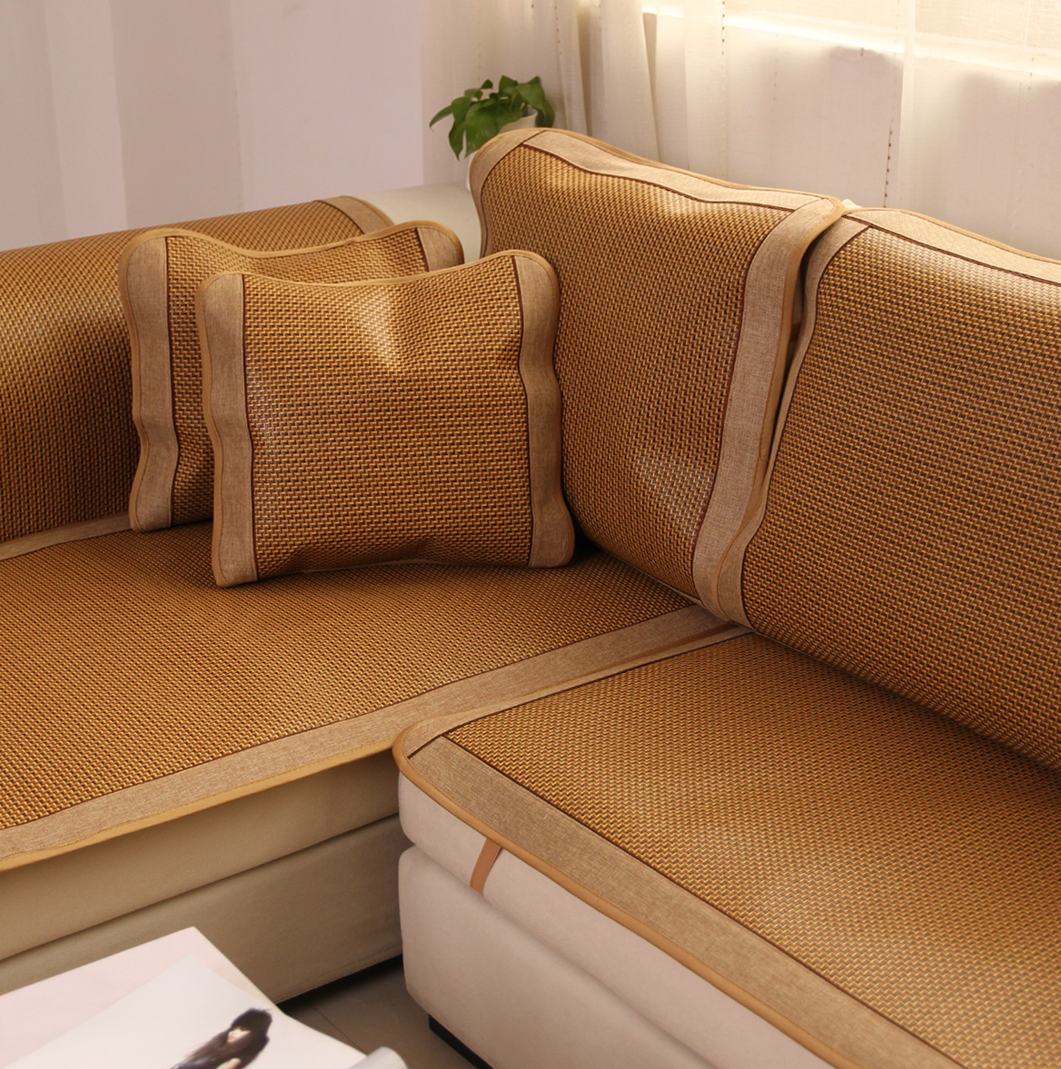 Leather Couch Cushions Slipping