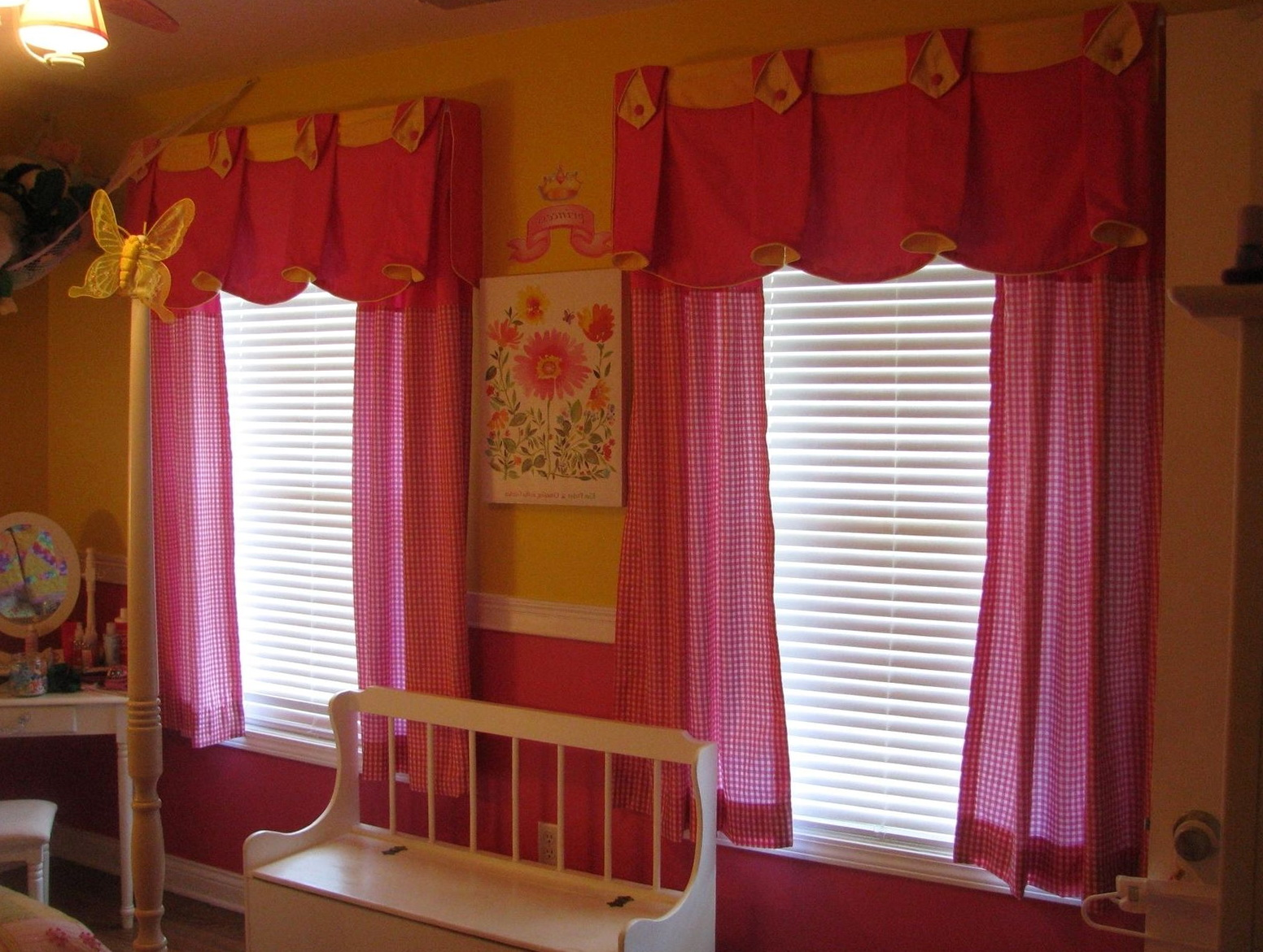 Little Girl Curtains Window Treatments Home Design Ideas