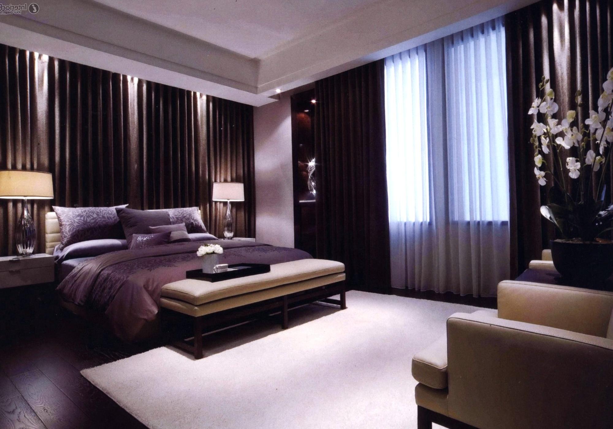 Master Bedroom Modern Curtains