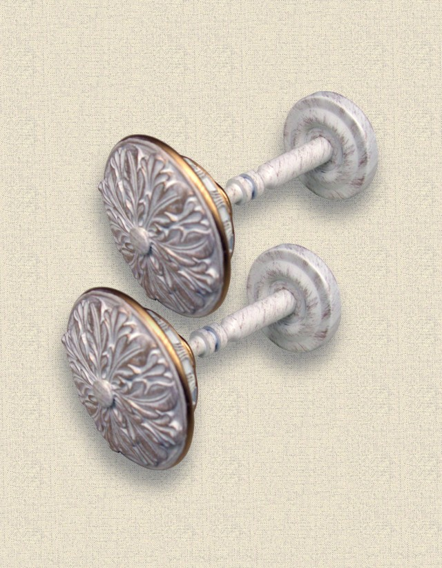 Medallion Holdbacks For Curtains