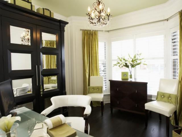 Modern Curtain Ideas For Bay Windows