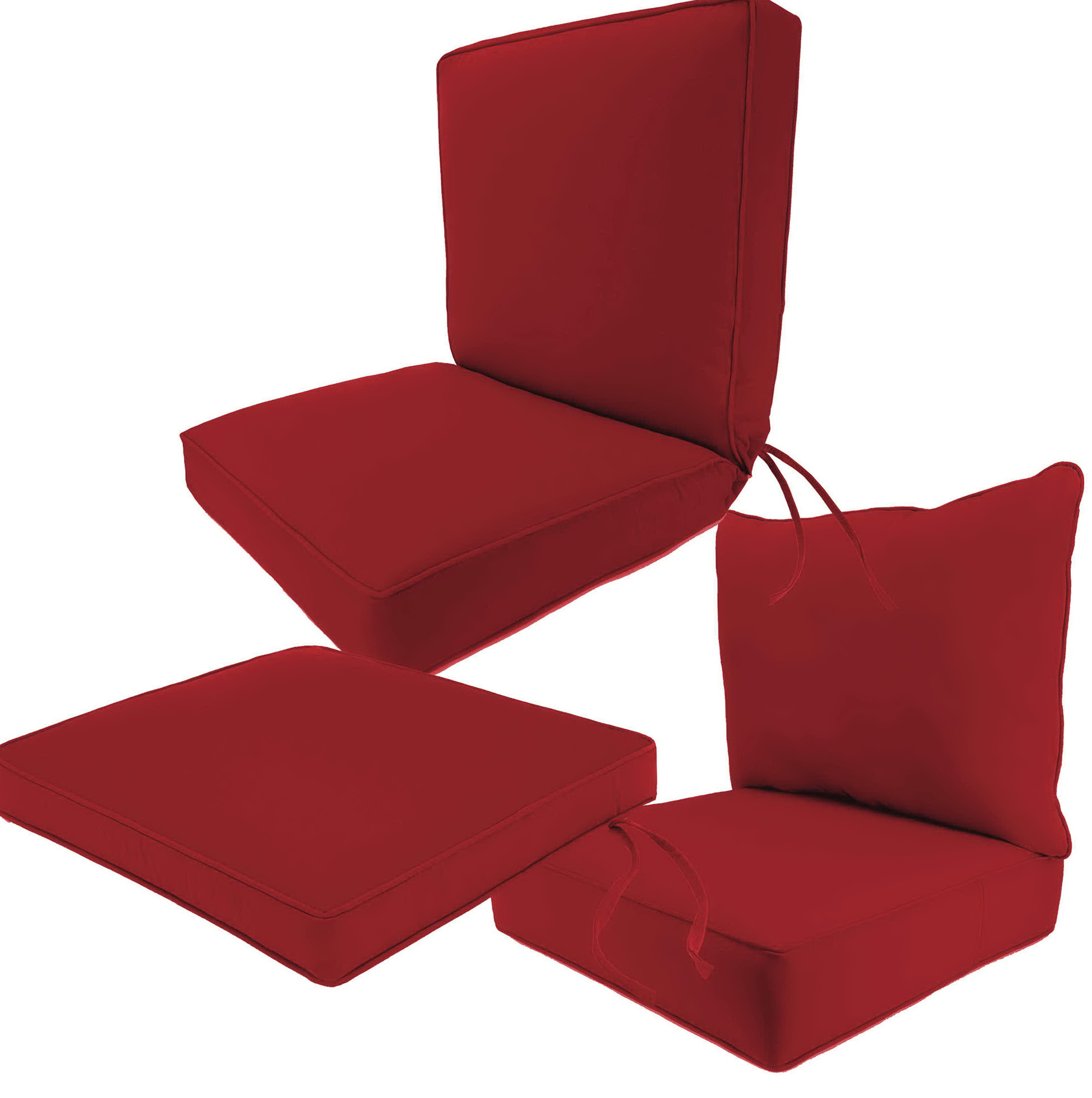 Outdoor Sunbrella Cushions Deep Seating