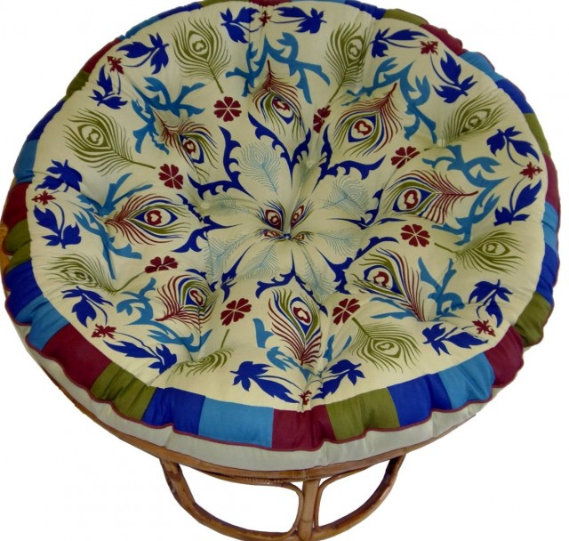 Papasan Double Cushion Cover