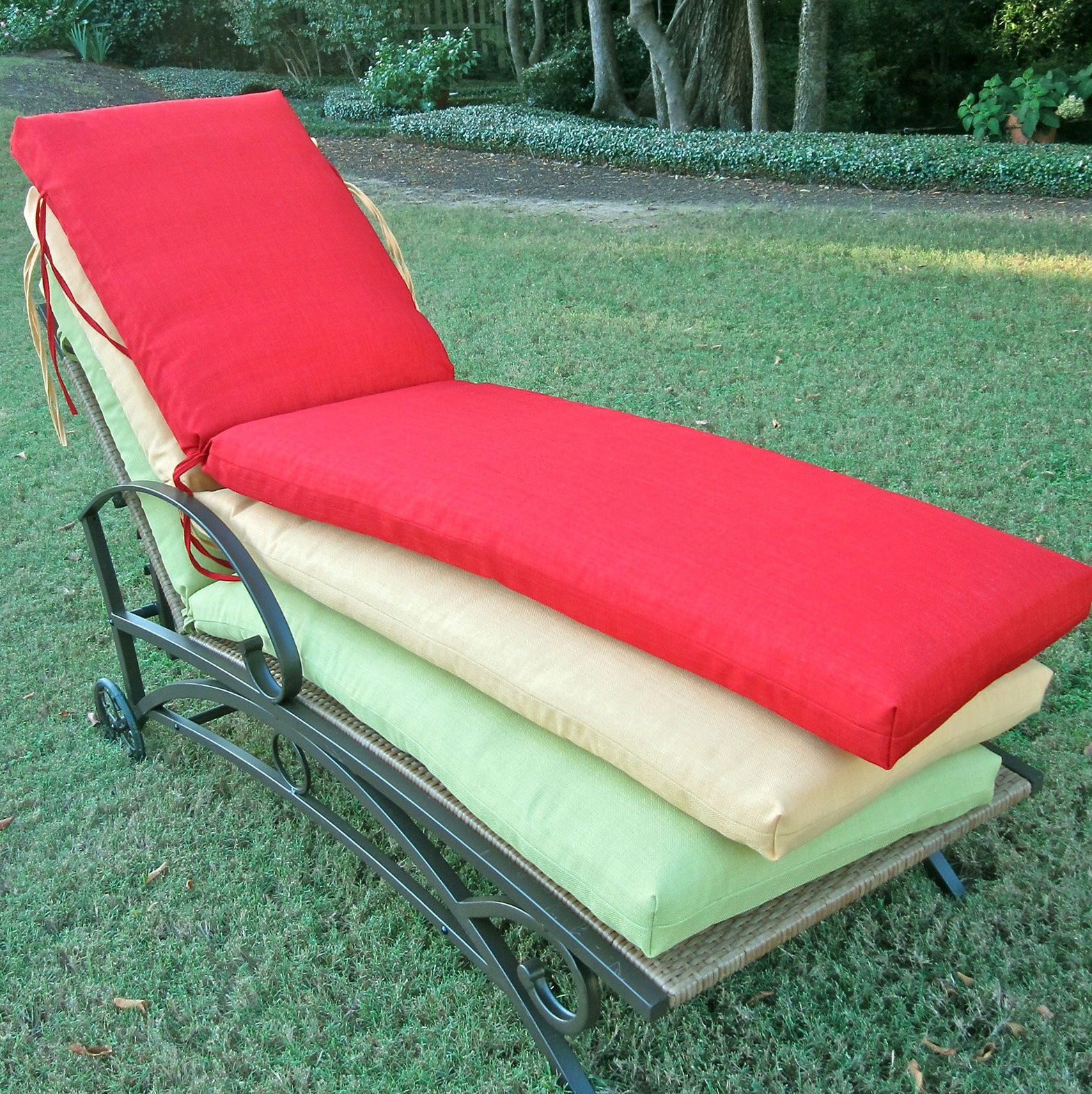 Patio Chaise Lounge Cushions Sale