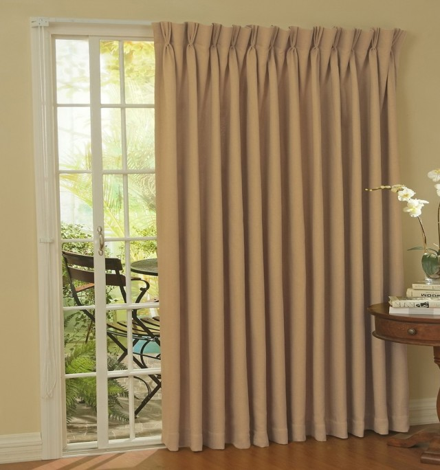 Patio Sliding Door Curtain Ideas