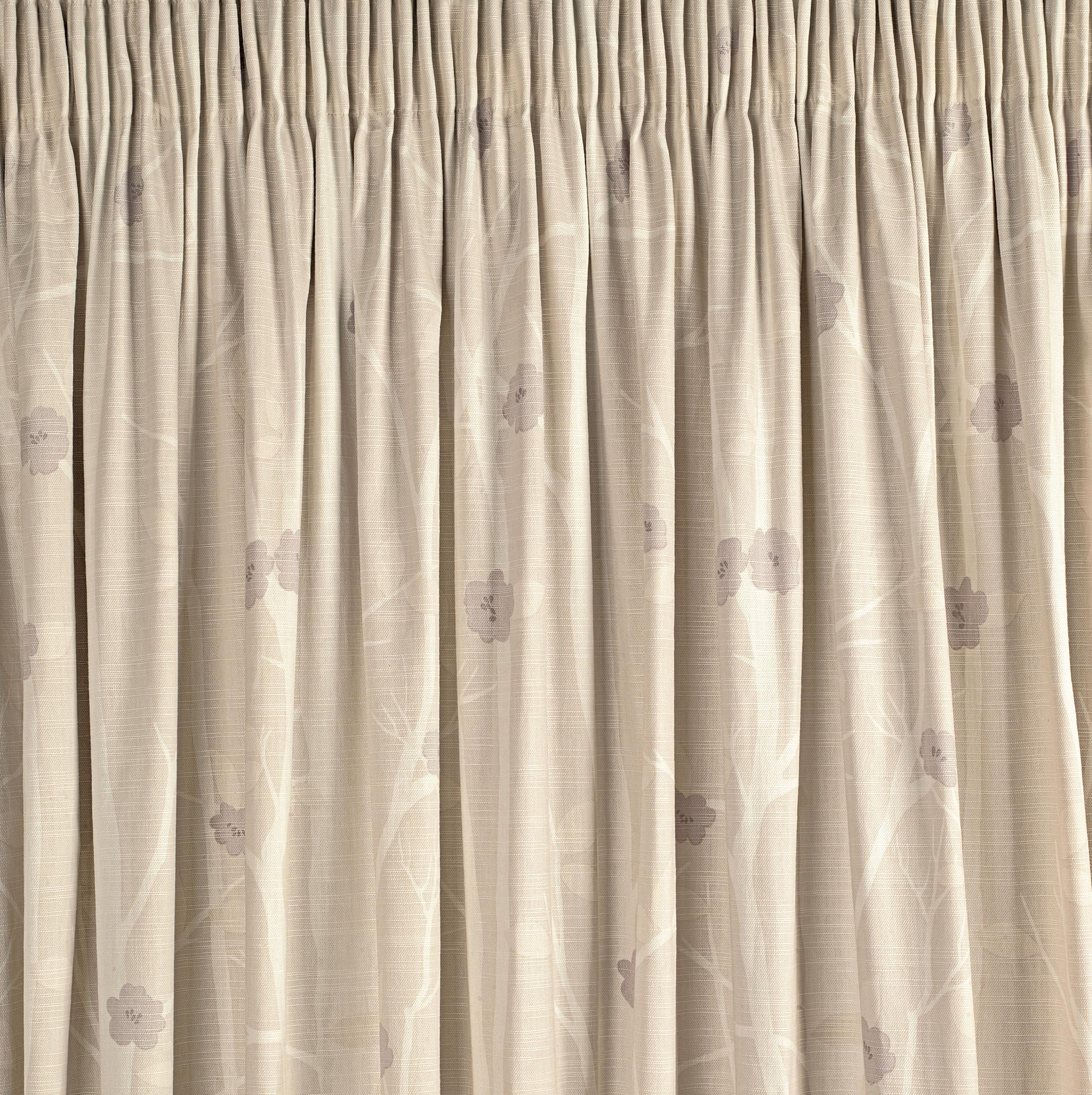 Pencil Pleat Curtains On A Pole
