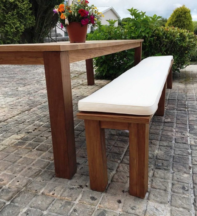 Picnic Bench Cushions Outdoor