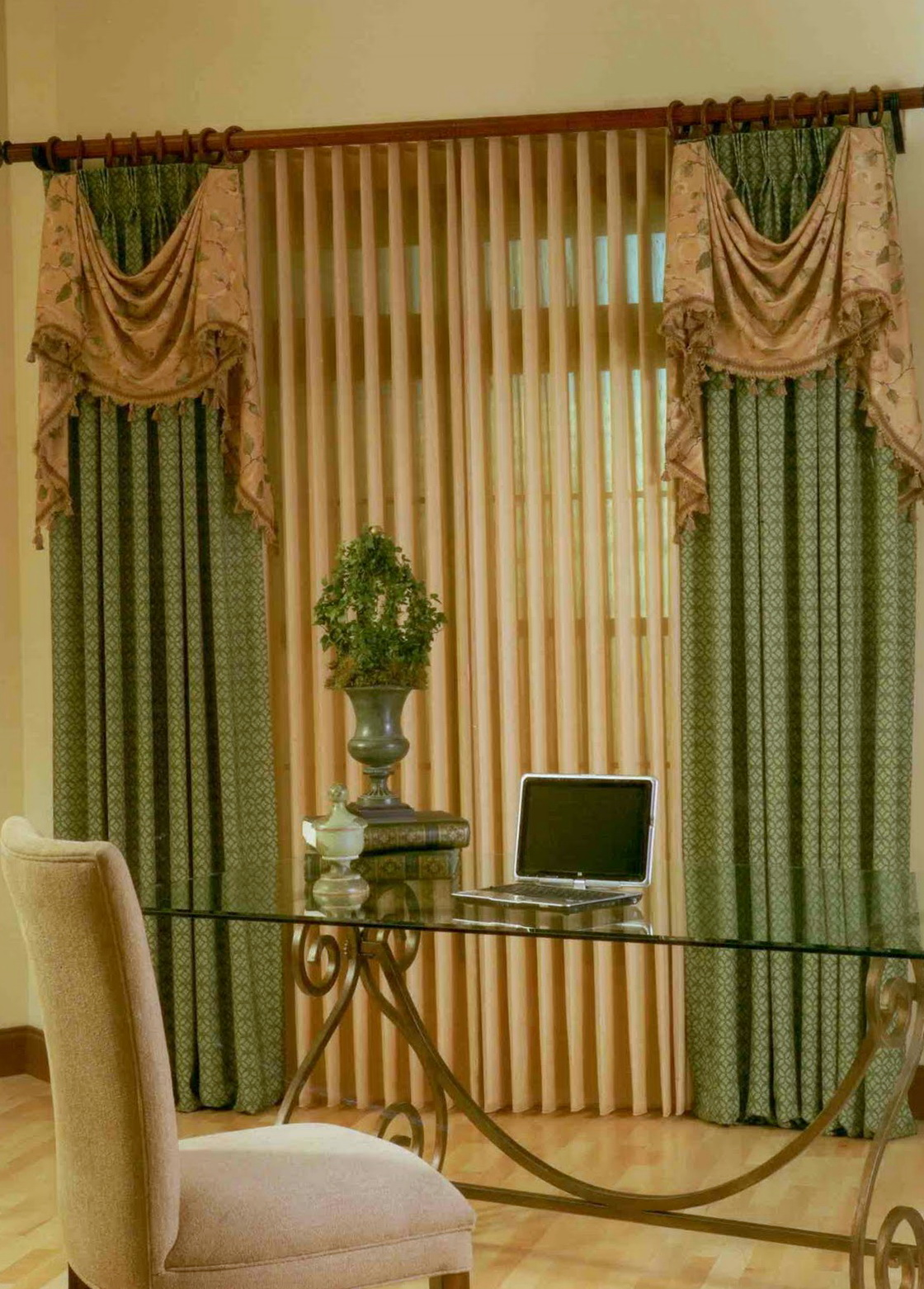 Pictures Of Blinds And Curtains Together