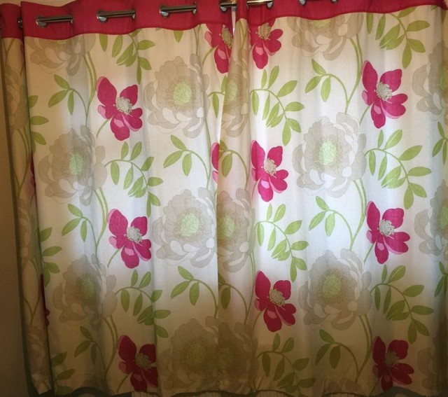 Next Pink And Green Curtains Home Design Ideas