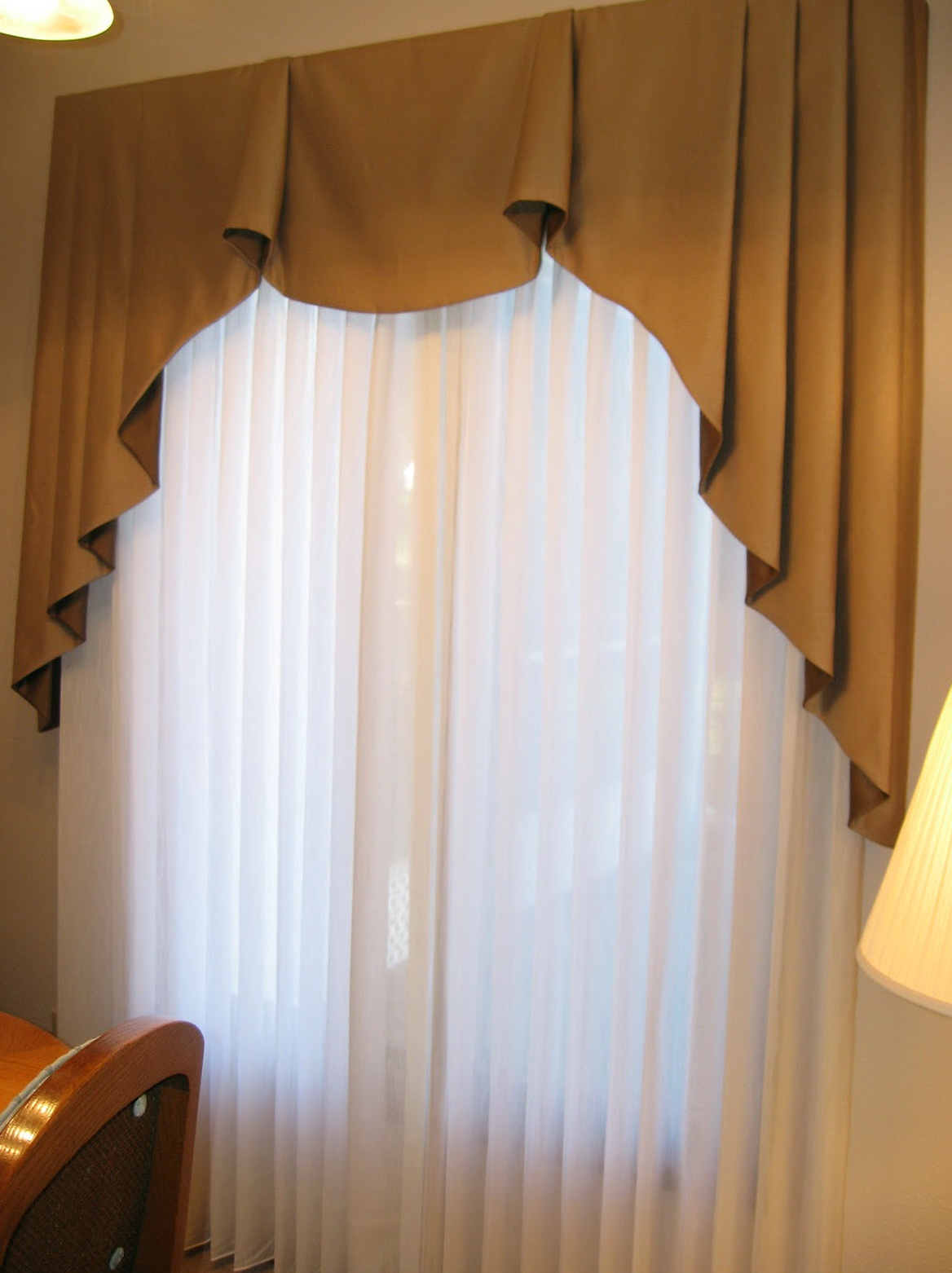 Pleated Sheer Curtains Window Treatments Home Design Ideas