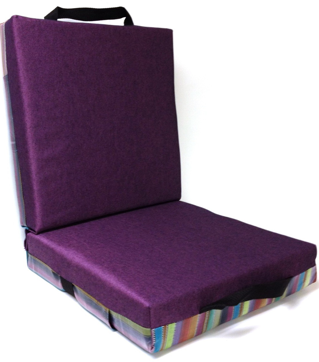 Purple Chair Cushions And Pads Home Design Ideas