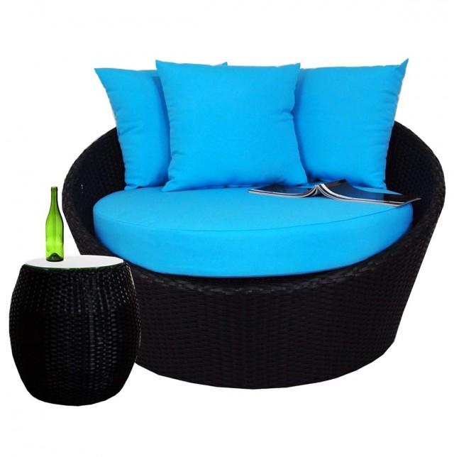 Round Cushion Coffee Table