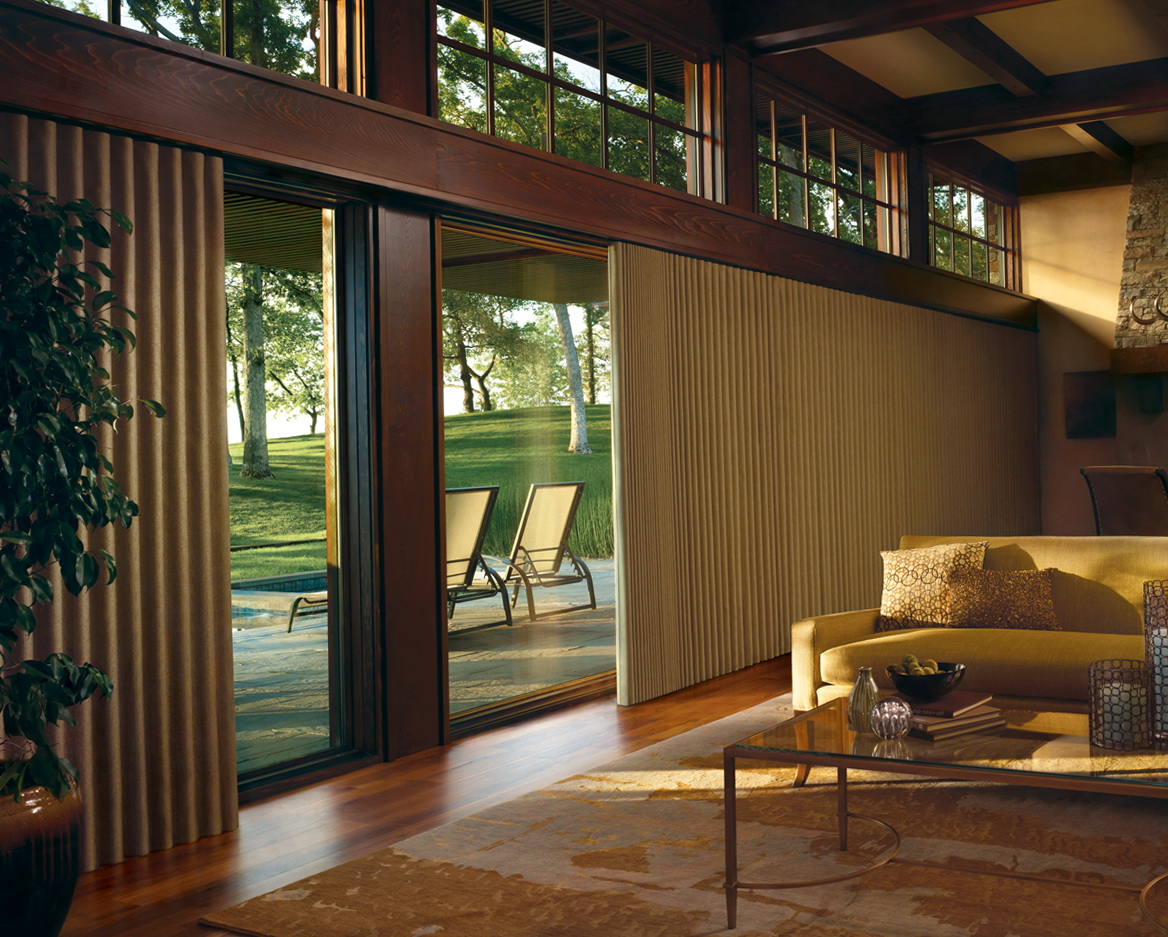 Sheer curtains sliding glass doors home design ideas for Sliding glass doors curtains