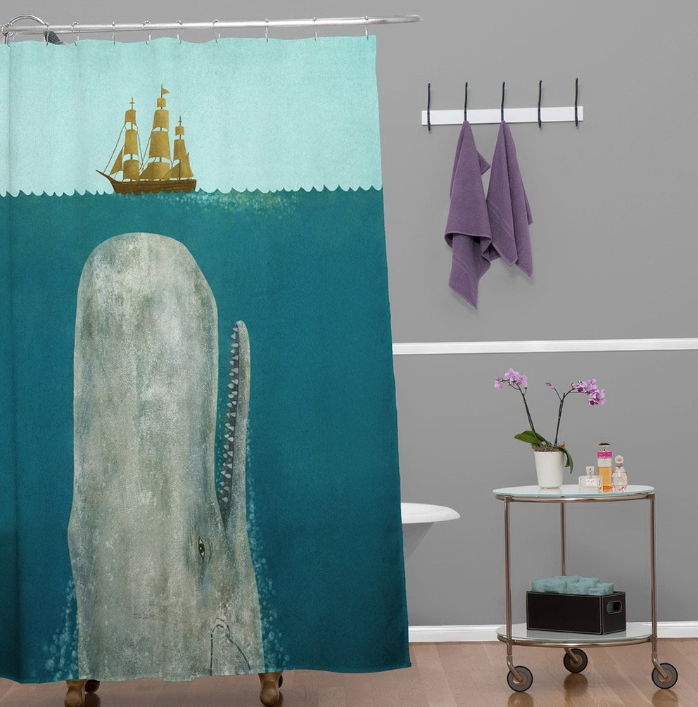 Shower Curtain Decorating Ideas