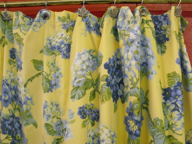Shower Curtains Blue And Yellow
