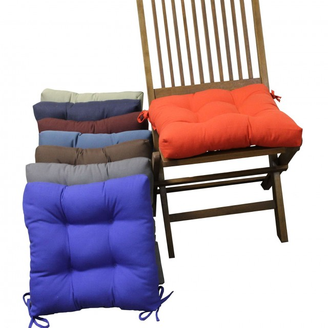 Square Chair Cushions With Ties