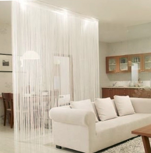 String Curtain Decorating Ideas