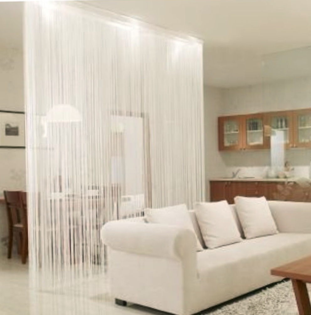String Curtain Decorating Ideas