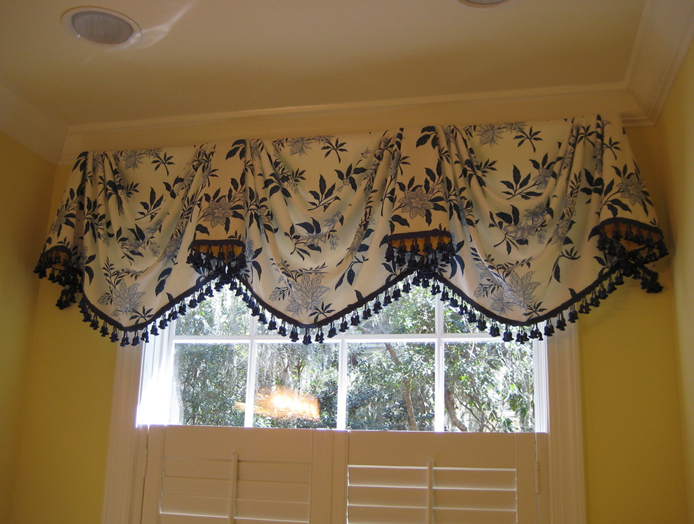 Swag Curtain Valance Ideas Home Design Ideas
