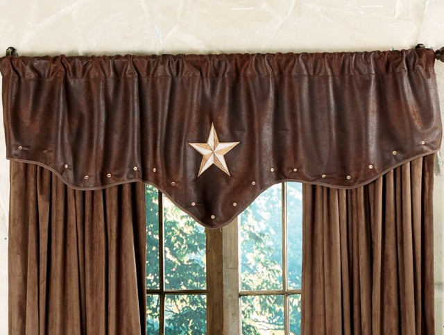 Western Style Curtain Rods