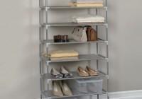12×34 Closet Shoe Shelves