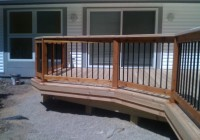 2×6 Deck Railing Ideas