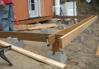 4×4 Concrete Deck Blocks