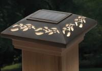 4×4 Solar Deck Post Caps