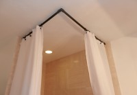 90 Degree Curved Shower Curtain Rod