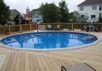 Above Ground Pool Deck Designs