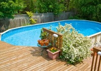 Above Ground Pool Decking Options