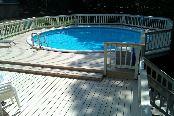 Permalink to Above Ground Pool Decks Designs