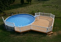 Above Ground Pool Decks For Sale