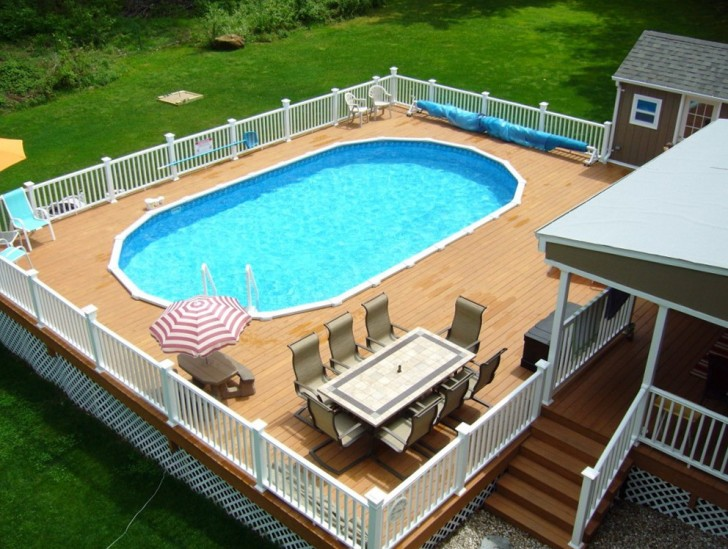 Permalink to Above Ground Pool Decks Pinterest