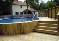 Above Ground Pools Decks Ideas