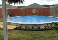 Above Ground Pools With Deck Around It