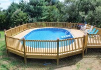 Above Ground Pools With Decks Prices