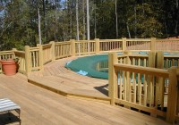 Above Ground Swimming Pool Decks Plans