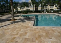 Acrylic Pool Deck Vs Pavers