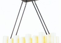 Allen Roth Candle Chandelier