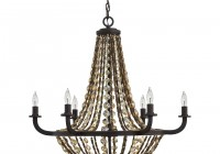 antique brass crystal chandelier