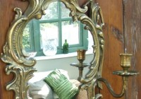 Antique Brass Wall Mirrors