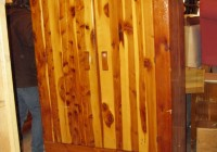 Antique Cedar Wardrobe Closet