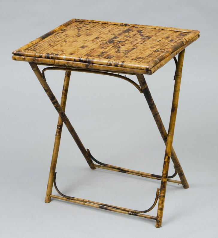 Permalink to Antique Folding Side Table