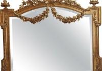 Antique Gold Leaf Mirror