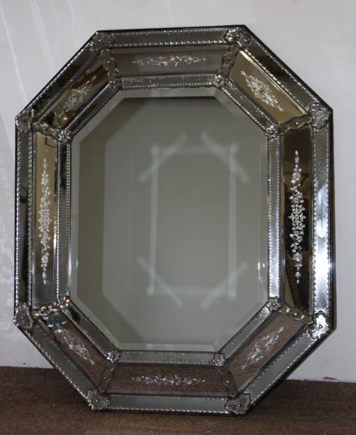 Permalink to Antique Mercury Glass Mirror